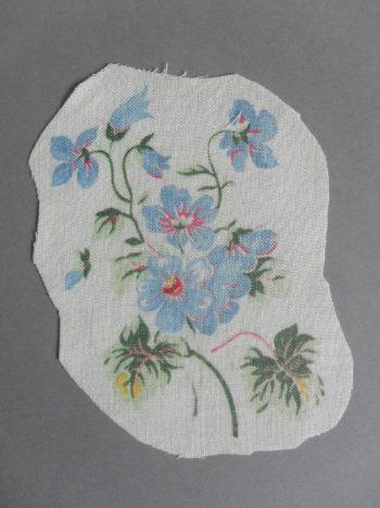 Bouquet Bleu à broder