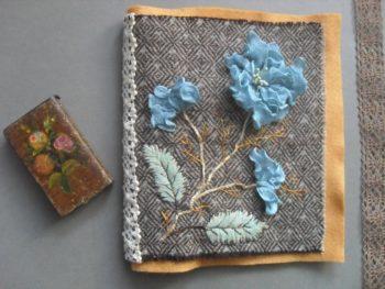 Kit Fleurs bleues Fils et Fantaisies