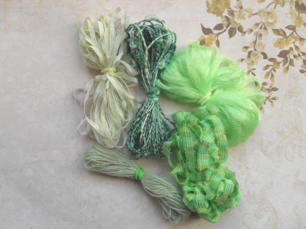Lots Fils Fantaisie verts