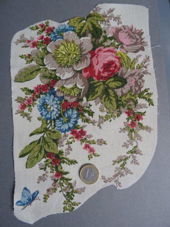 Bouquet vintage à broder