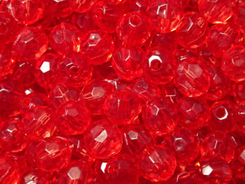 Perles rondes facettées