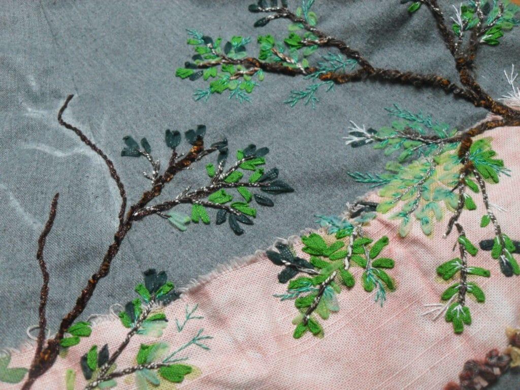 Varier les teintes de vert dans le feuillage