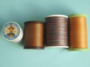 fil classique utilisé en broderie d'embellissement