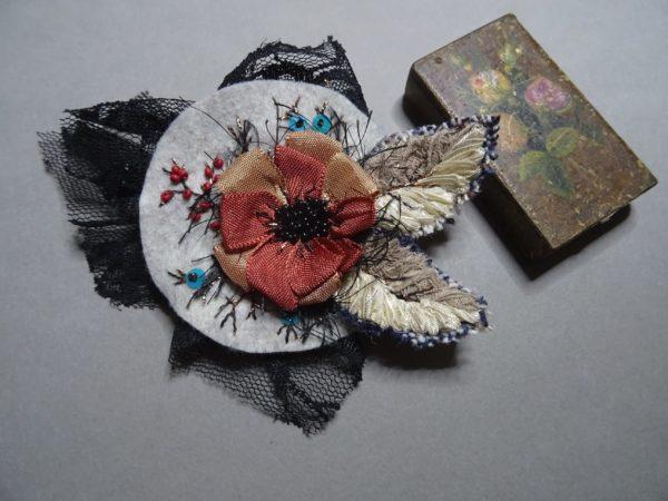 Kit / tuto Fleur d'Automne