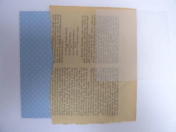 Papier bleu