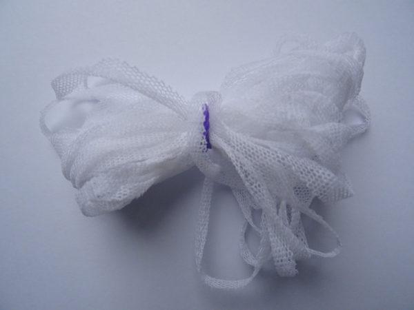 Fil Tulle blanc